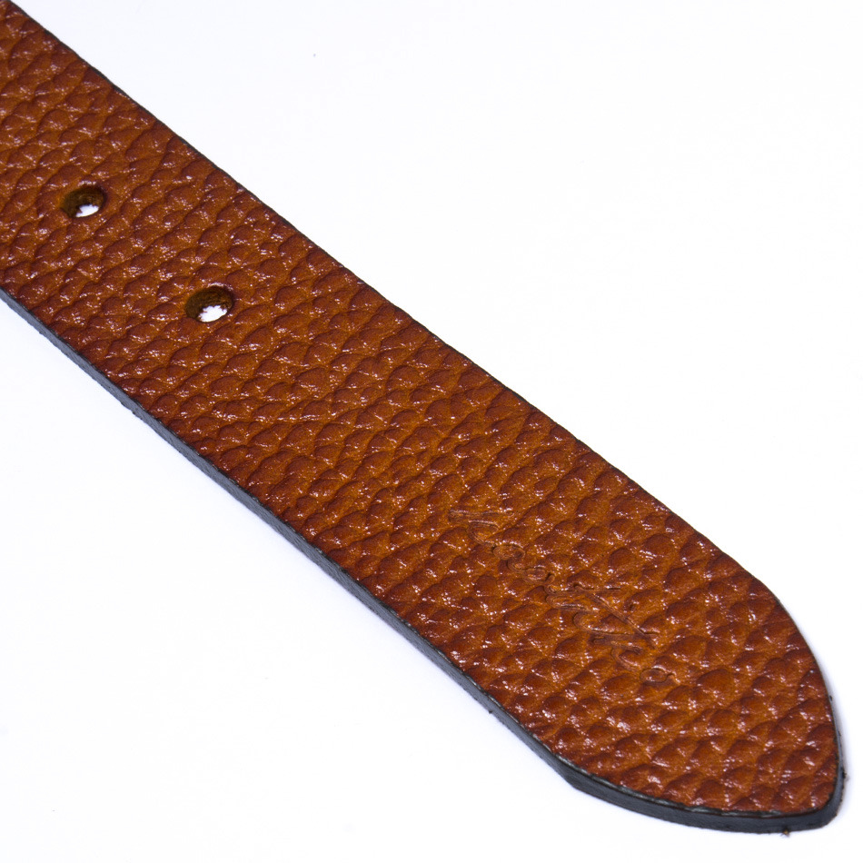 Cinturón Leather Cognac