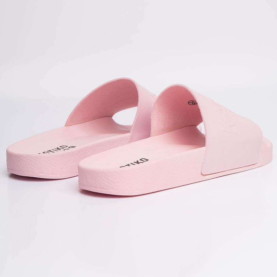 Pink monochrome sandals