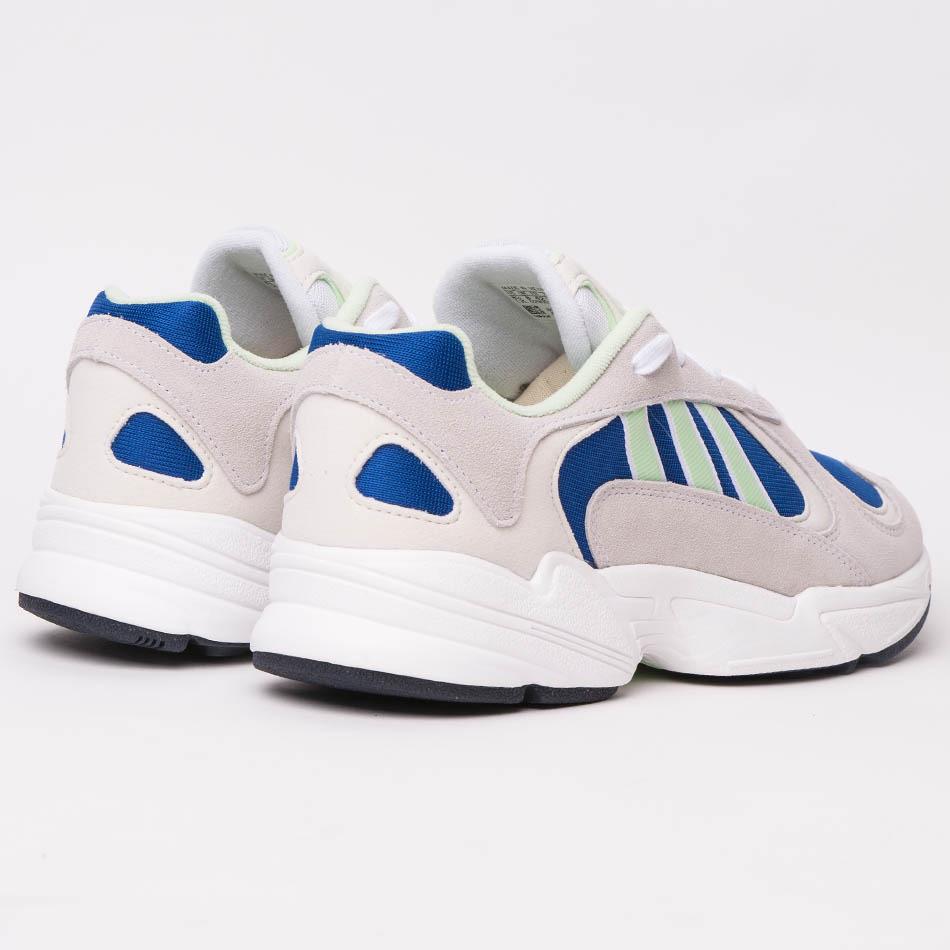 Adidas Yung-1 White/Royal