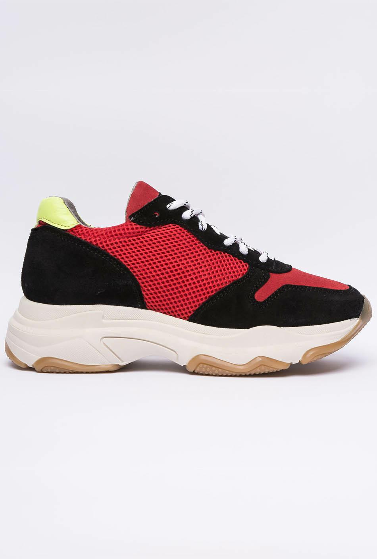 Sneaker Manhattan vermell/negre