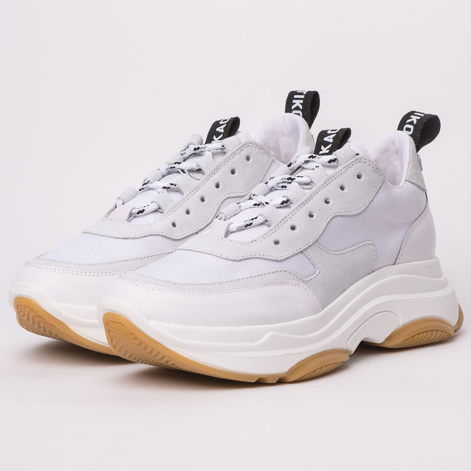 Daddy shoes white/gum