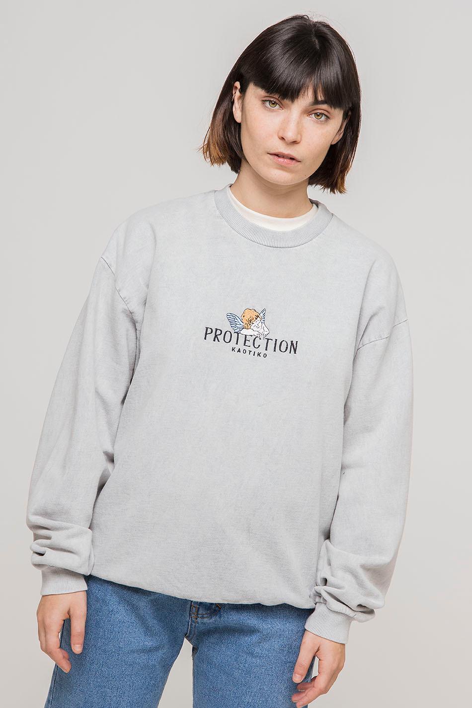 Diane Tie-Dye Grey Sweatshirt