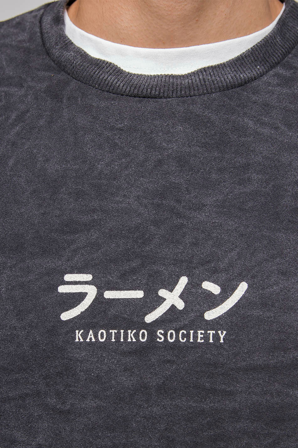Washed Ramen Black Sweatshirt