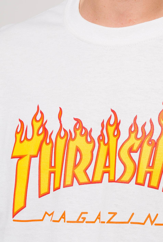 Thrasher flame white