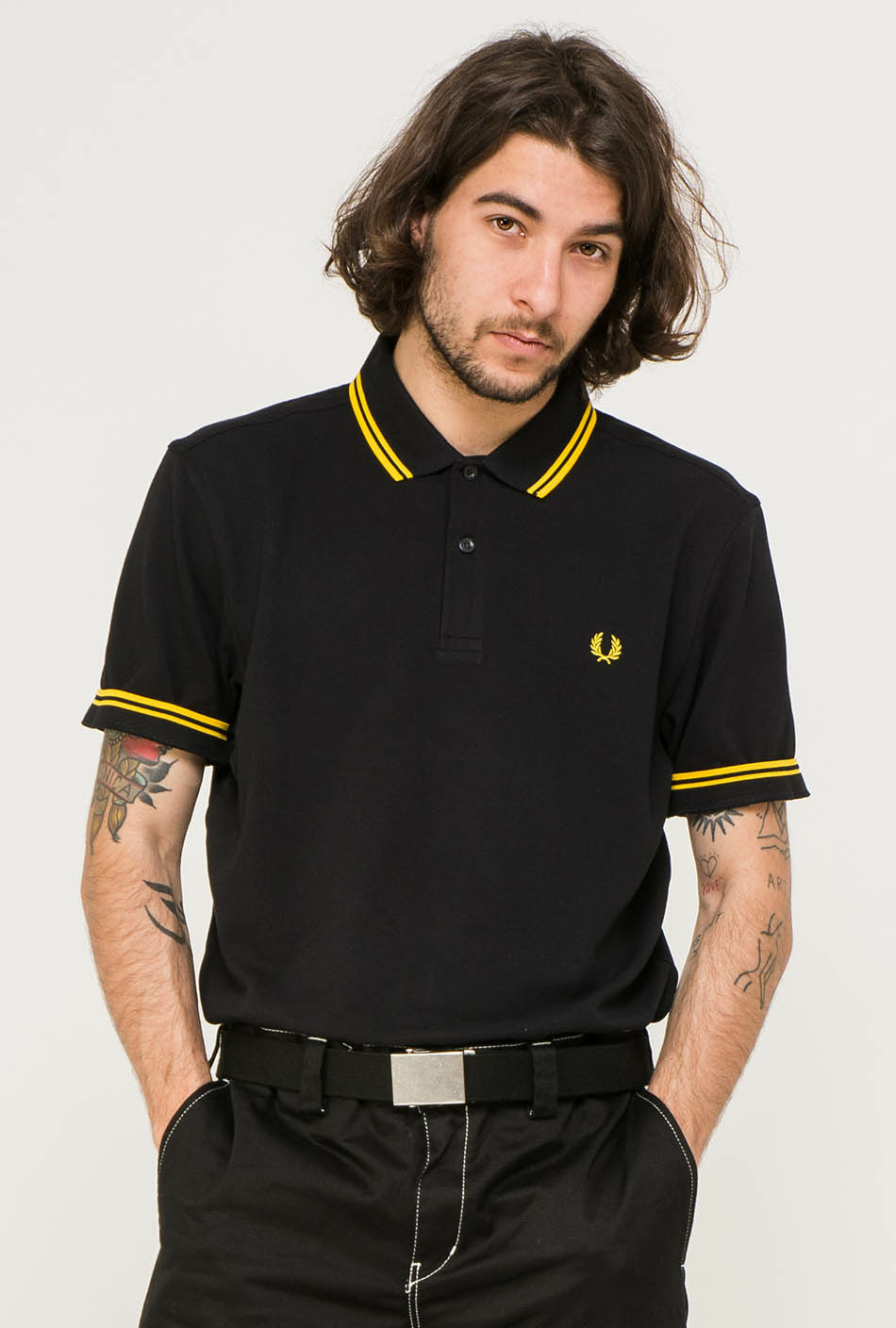 Fred Perry black shirt