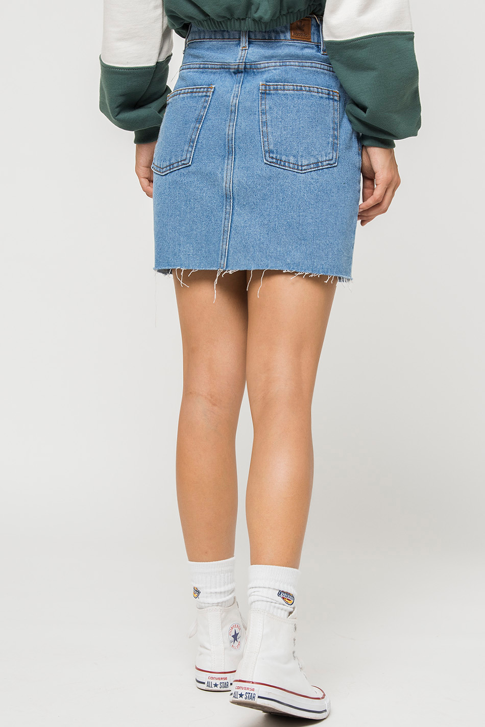 denim stone skirt