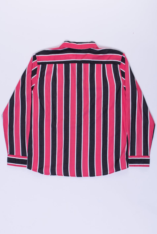 Obey Wicker Woven LS Pink Multi
