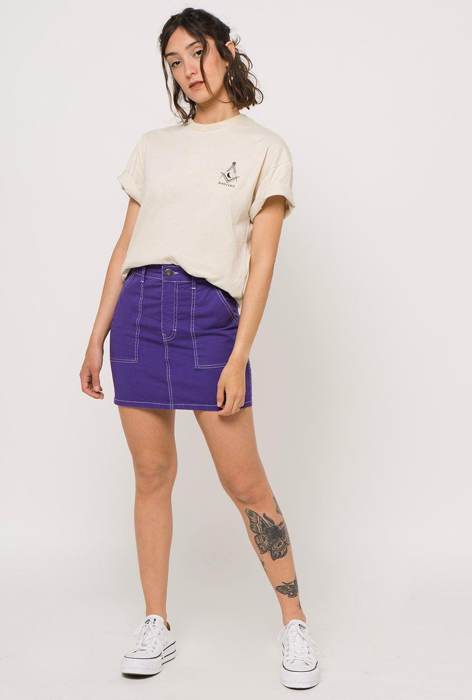 Lilac contras skirt
