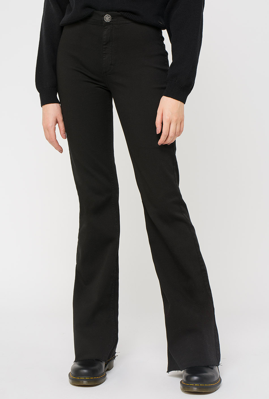 Pantalón Minimal Flare Black