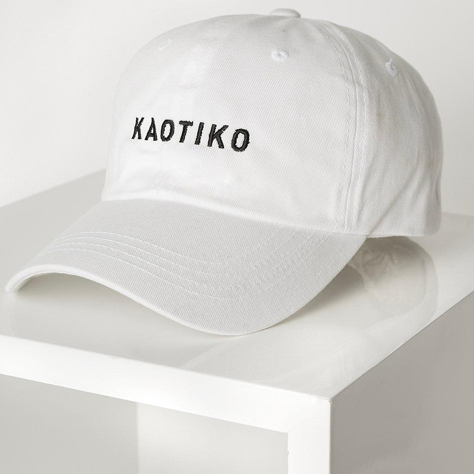 Gorra Kaotiko white