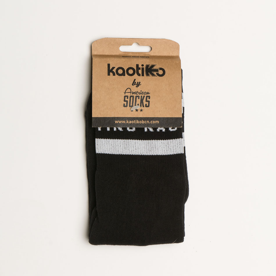 Kaotiko Basic Black/White Socks W