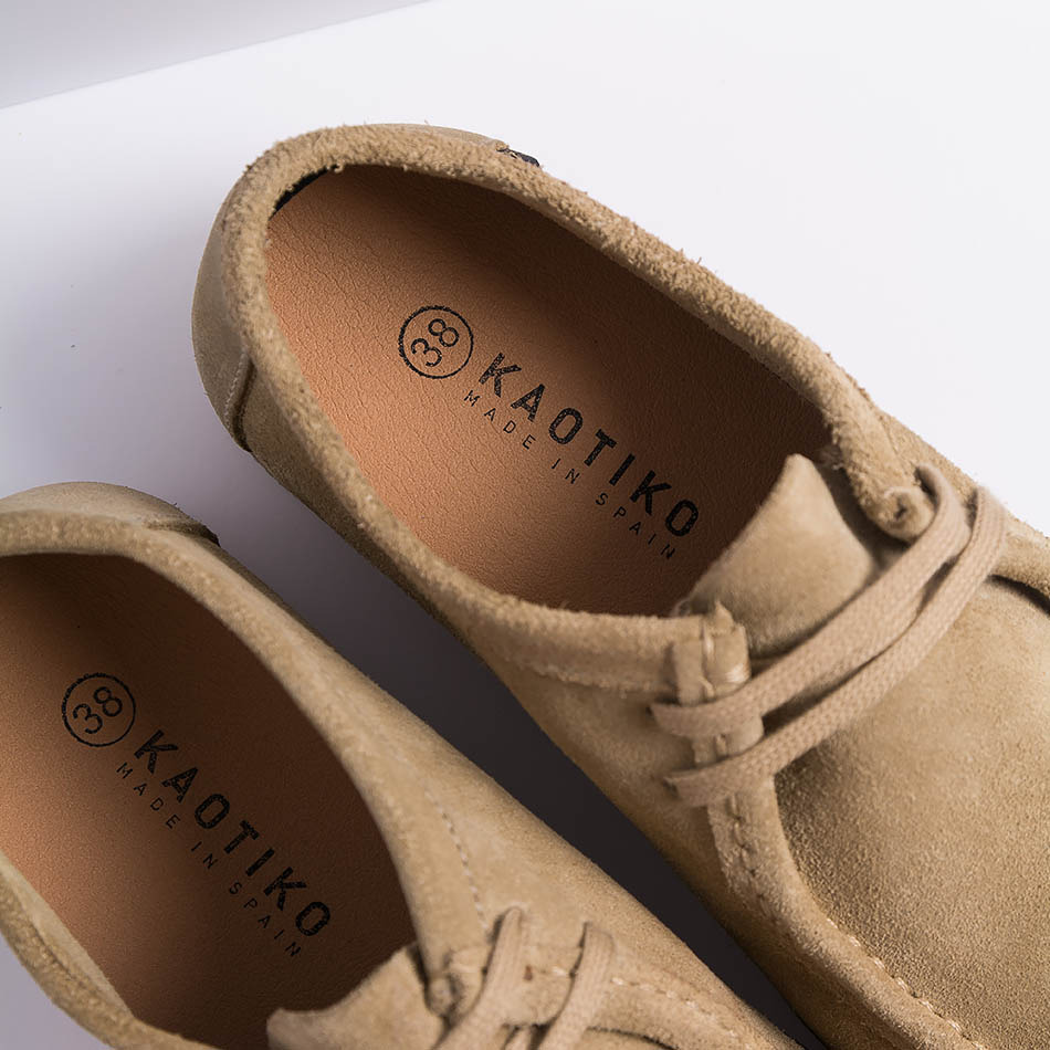 kaotiko Austin shoes taupe