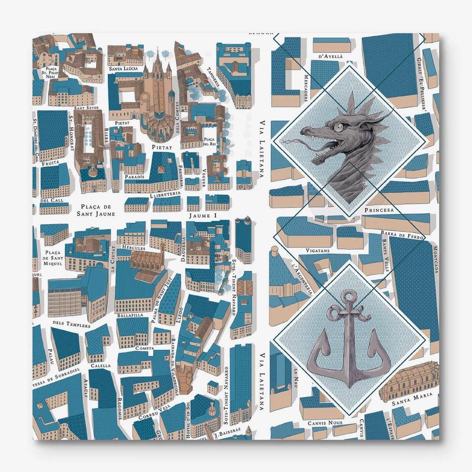 Barcelona-Gòtic Map