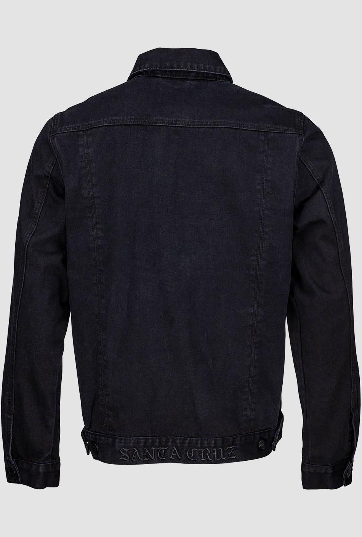 Santa Cruz Dressen Rose Kit Jacket Black Denim