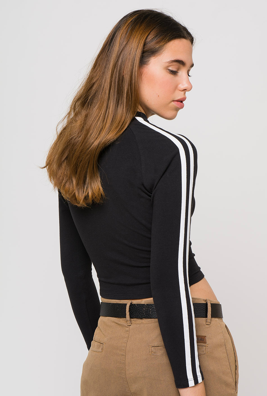 Black Lysa long sleeve t-shirt