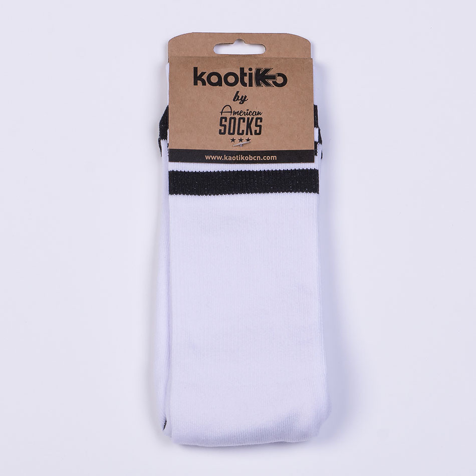 Calcetines Kaotiko Basic Blanco/Negro