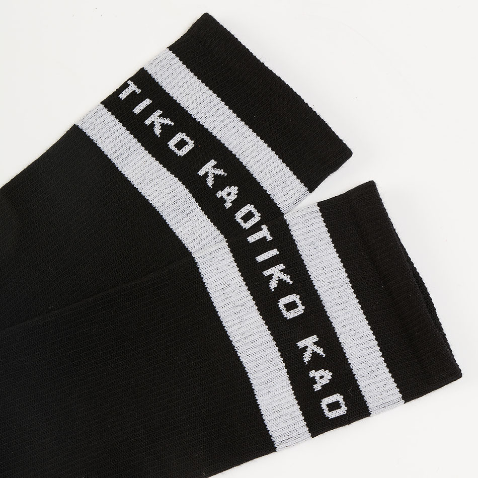 Calcetines Kaotiko Colors Negro/Blanco