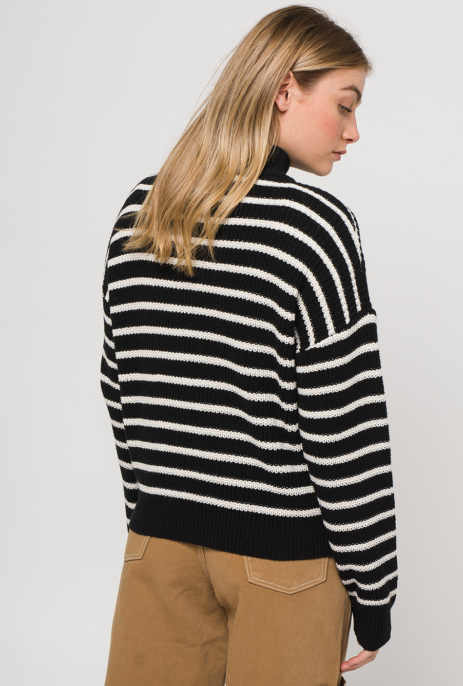 Jersey Stripes Black