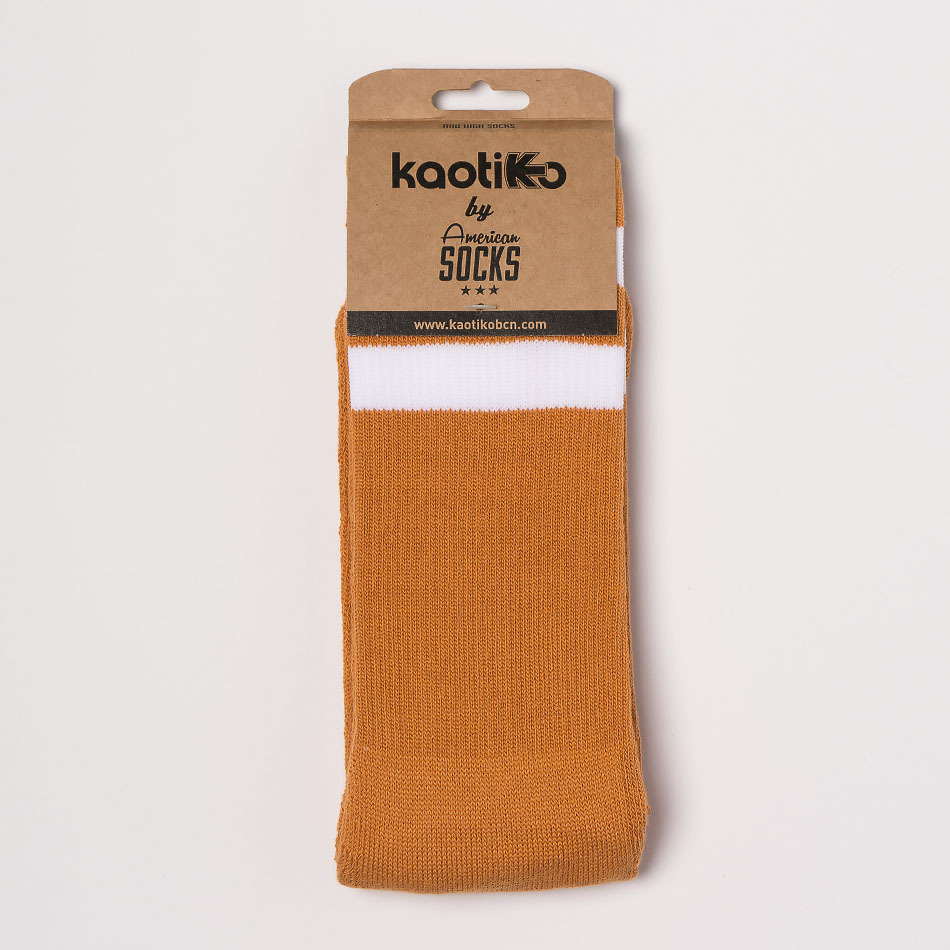 Kaotiko Colors Mustard Socks