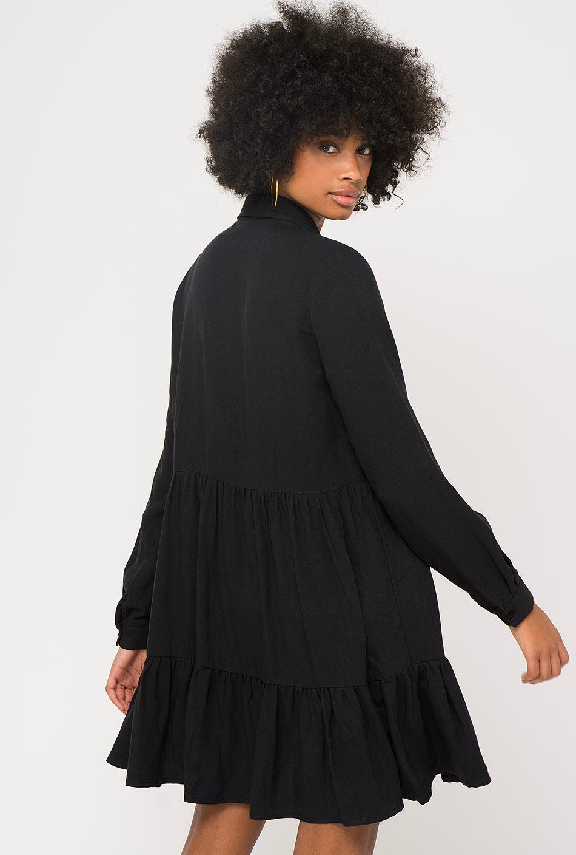 Kaotiko Black Dress