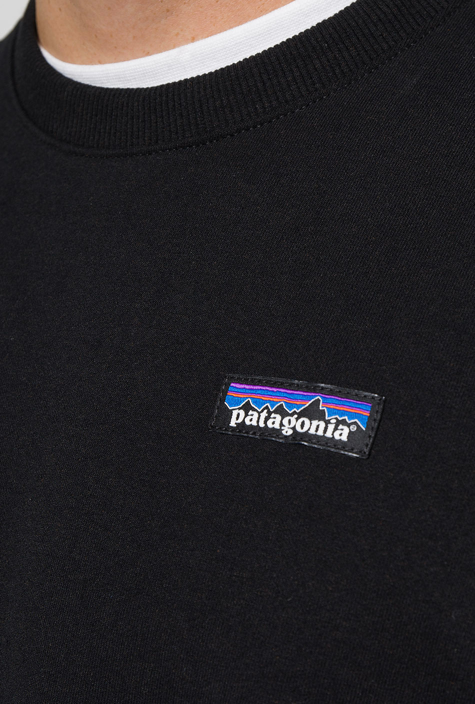 Patagonia P-6 Label Uprisal Crew Black