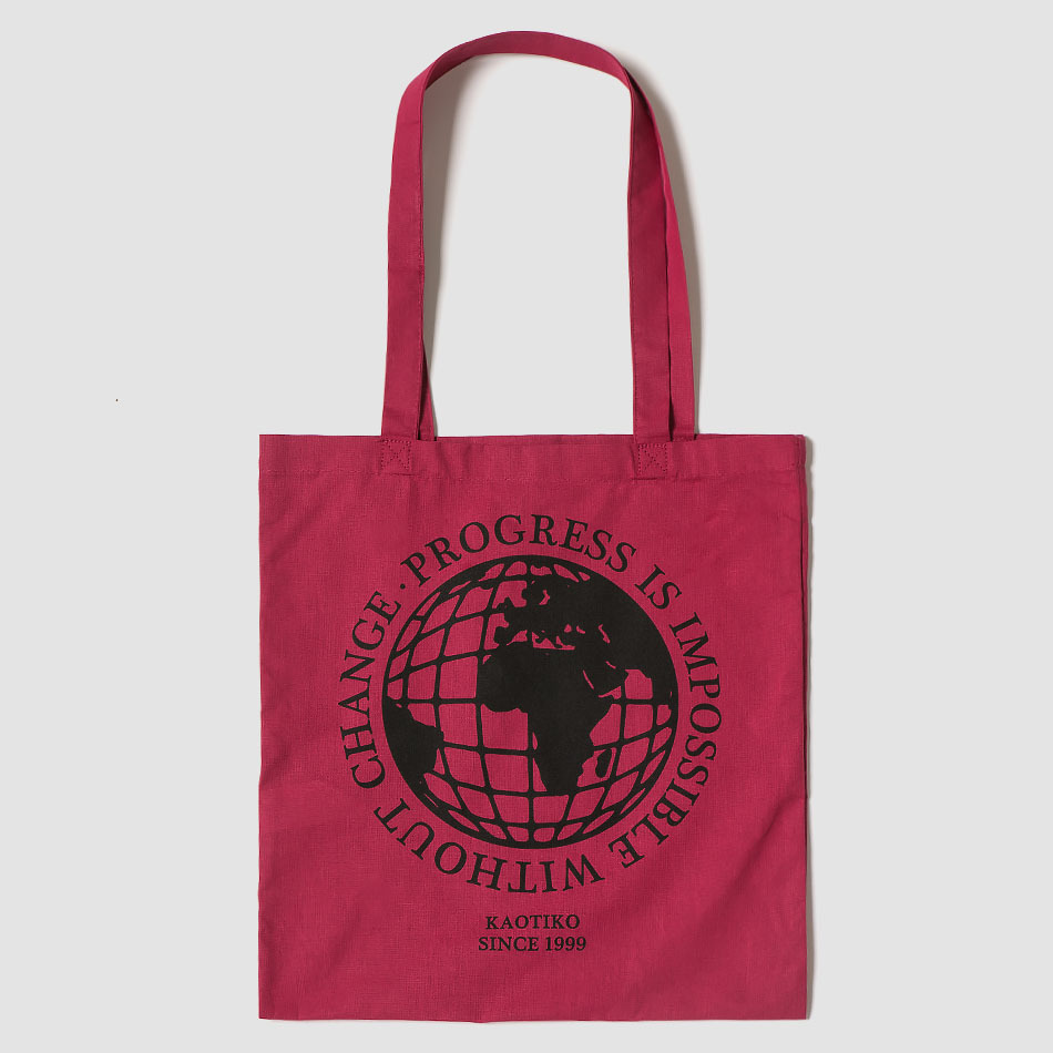 Tote Bag World Burgundy