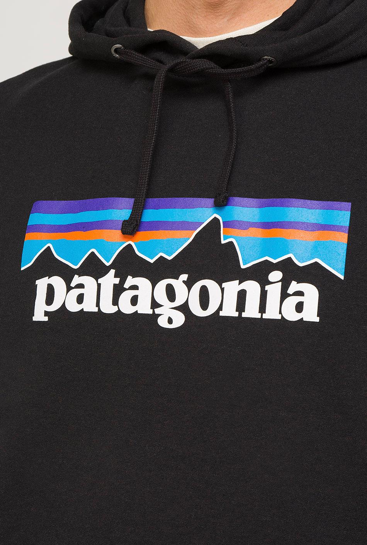Patagonia Logo Uprisal Hoody Black