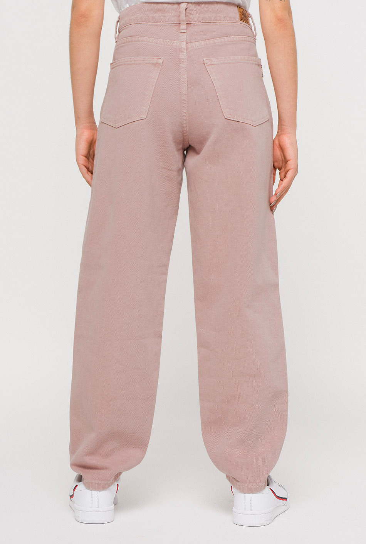 Slouchy Pink Tweezers Trousers