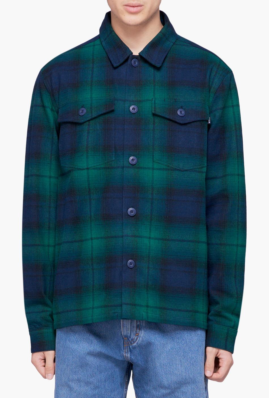 HUF John BDU Woven Shirt Dark Navy