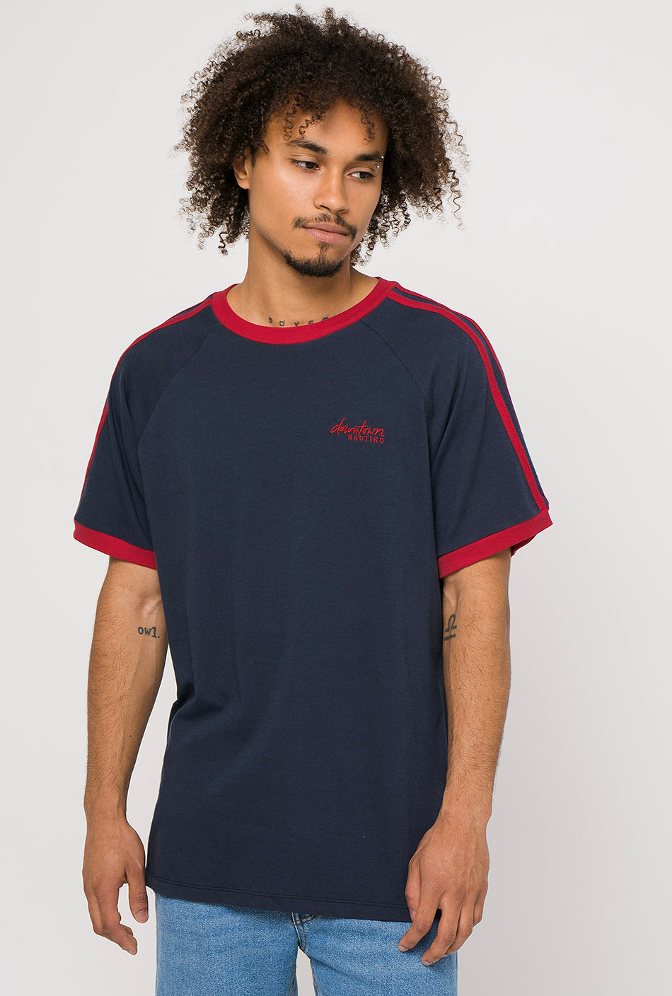 Hank navy t-shirt