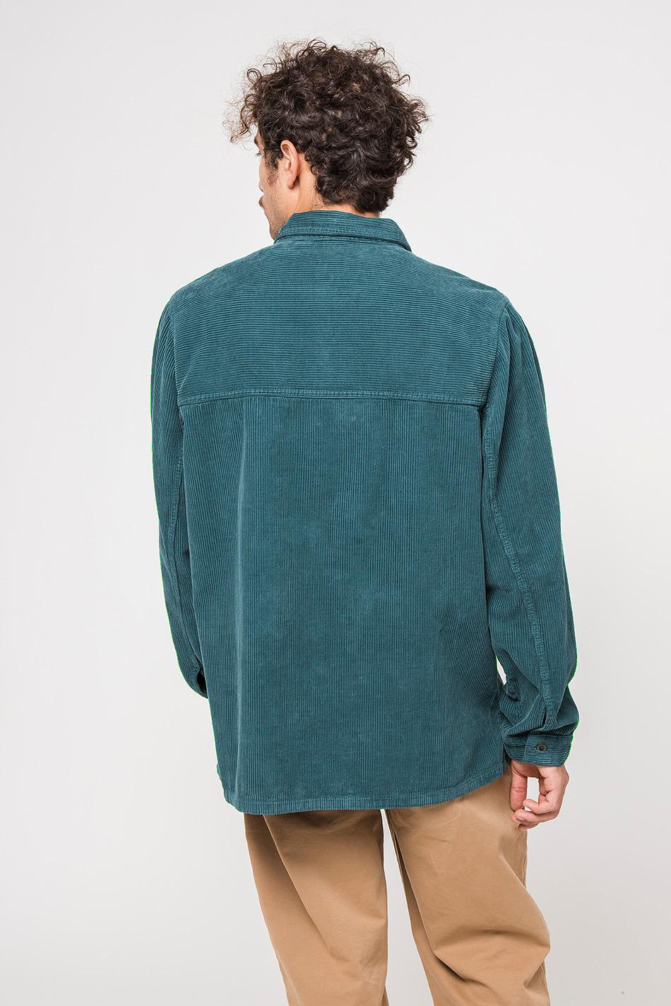 Corduroy Green Shirt