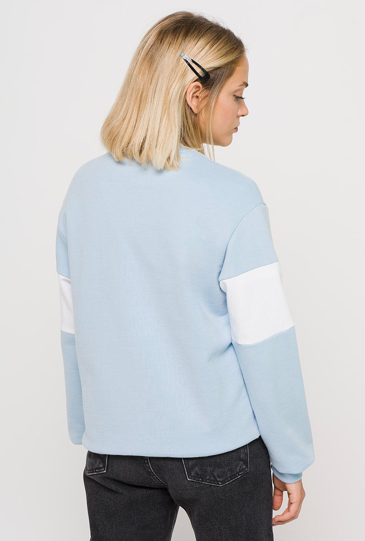 Sudadera Brooke azul/blanco