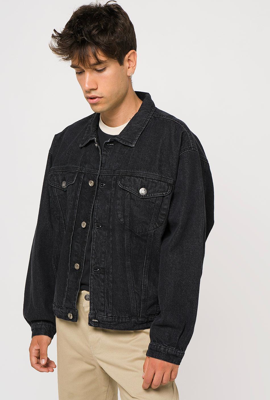 Denim black vintage jacket