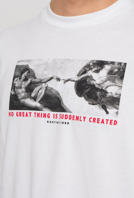 Creation White T-Shirt