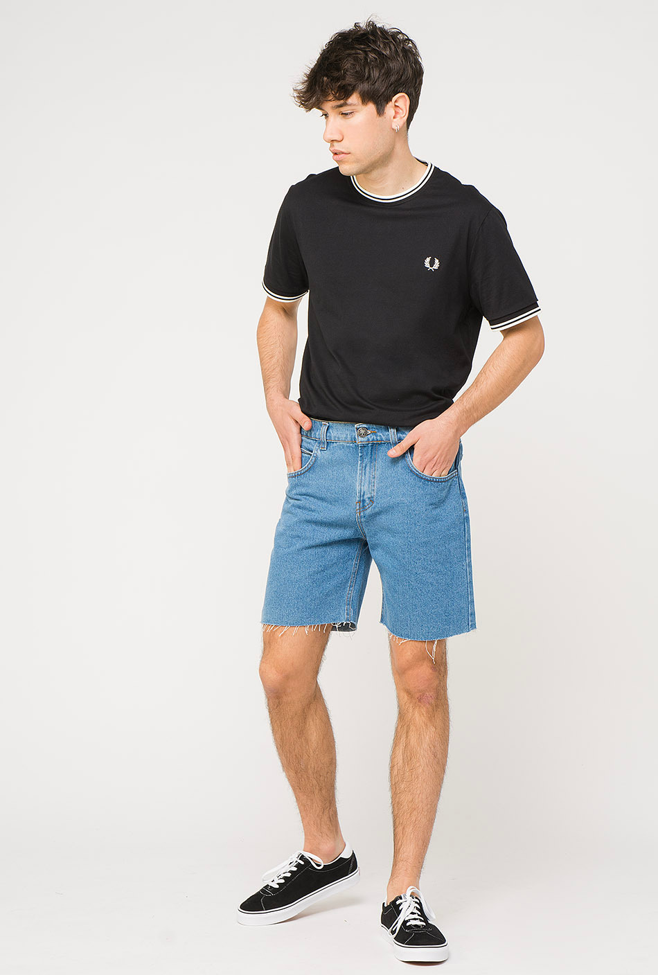 Fred Perry Black T-shirt