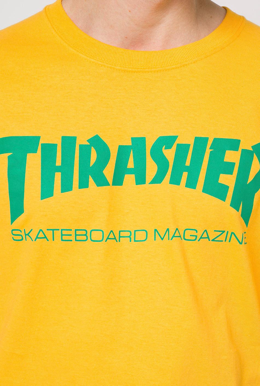 Thrasher Skatemag Gold T-Shirt