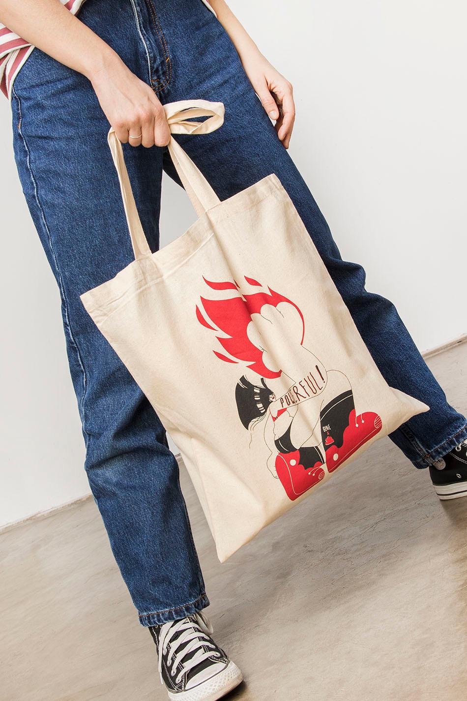 Tote Bag Powerful Women