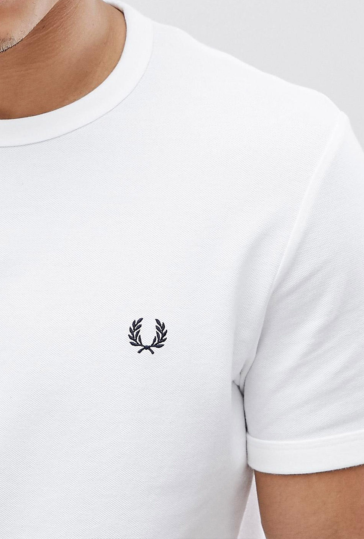 Camiseta Fred Perry Blanca