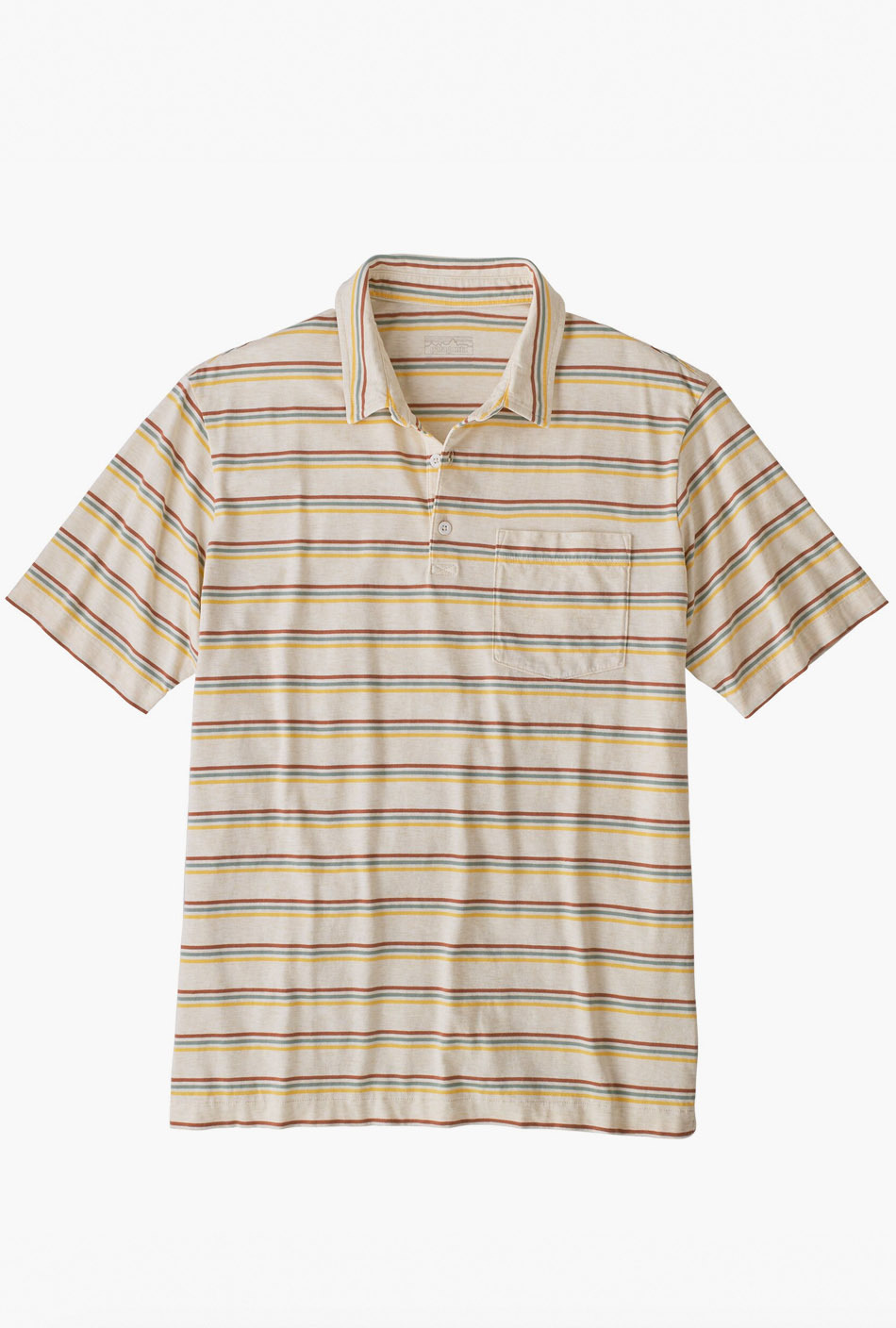 Patagonia Organic Cotton Polo White Wash