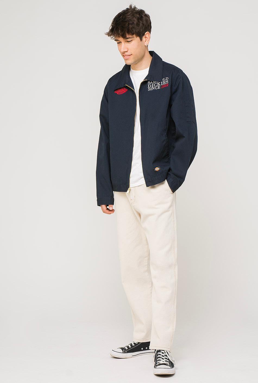 Dickies Irwinton Zip-Up Navy Jacket