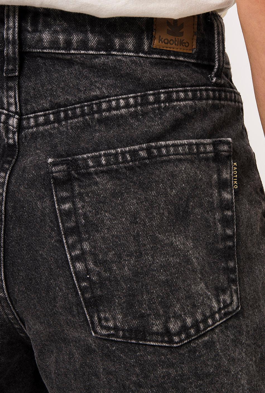 Short Retro Wash Black