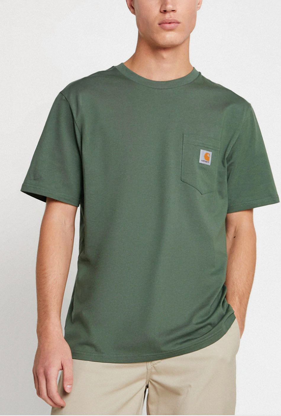 Carhartt Pocket T-Shirt Dollar Green