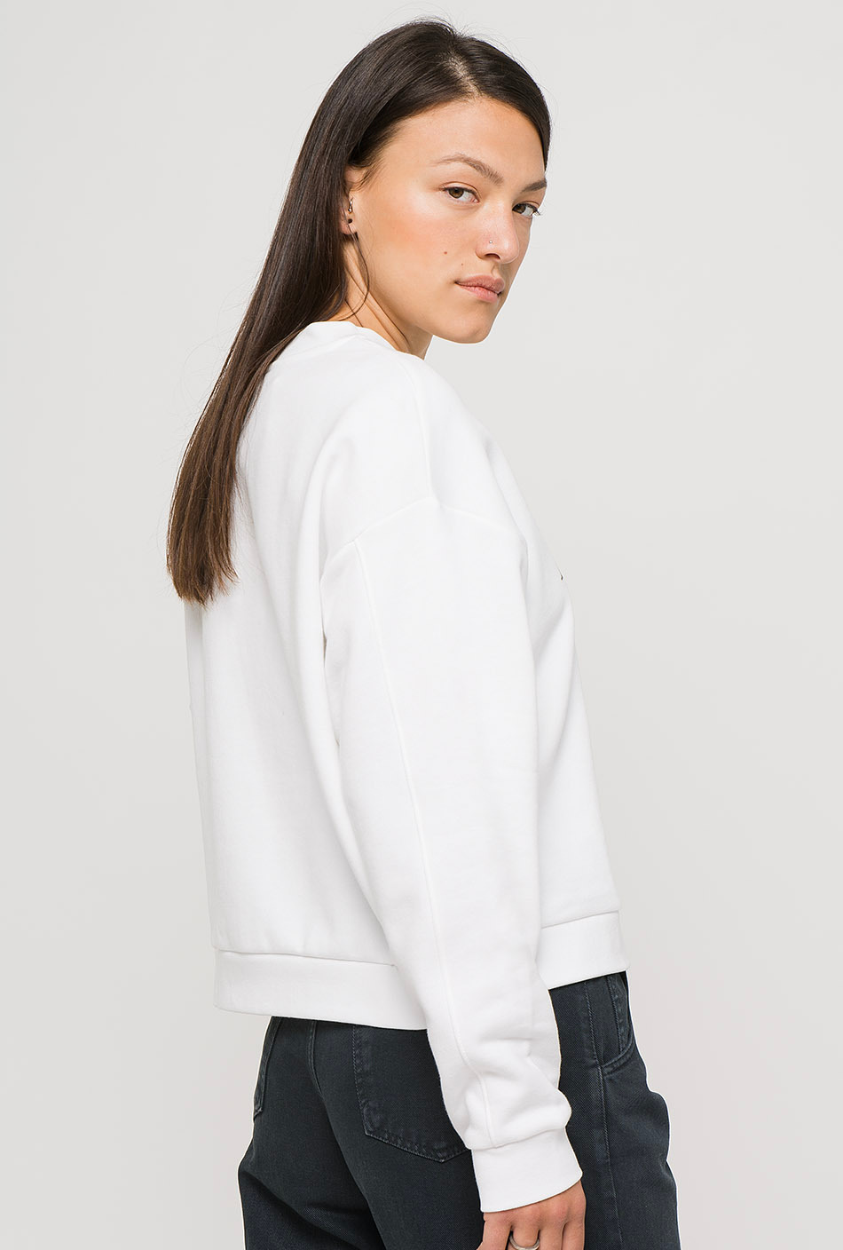 Levi's Graphic Diana Crew White