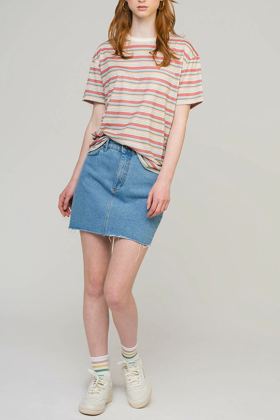 Downtown Multicolour Stripes T-Shirt