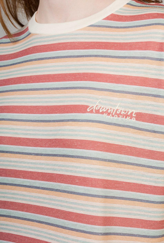 Camiseta Downtown Rayas Multicolor
