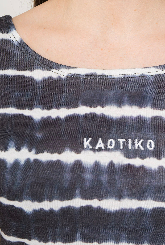 Camiseta Tie-Dye Makayla Gris