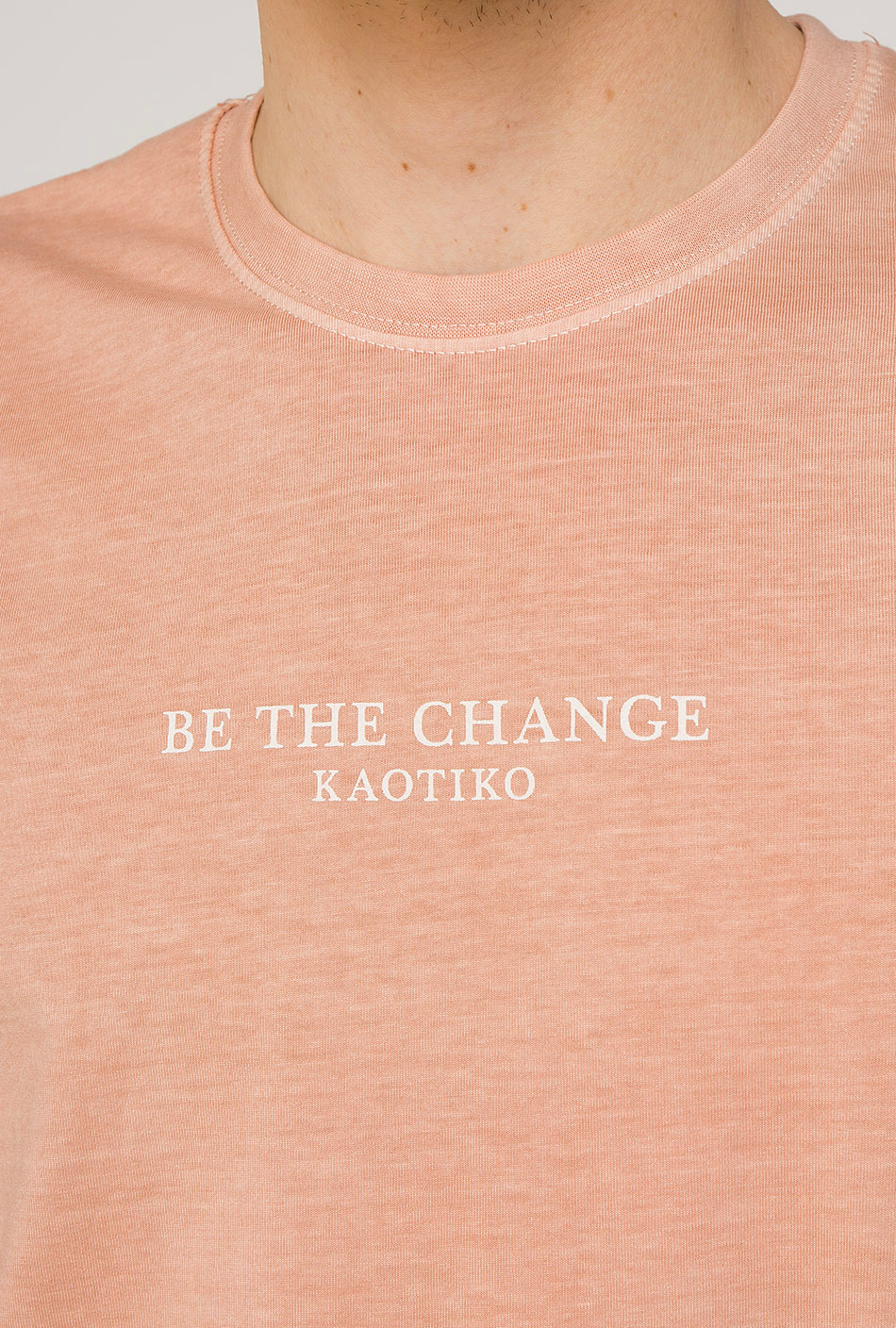 Be The Change Tie-dye Nude T-Shirt