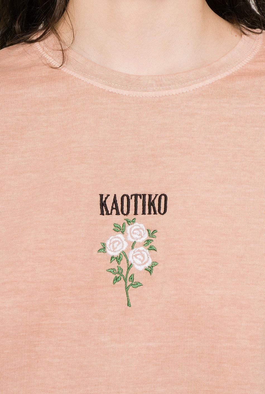 Camiseta Tie-Dye Roses Nude
