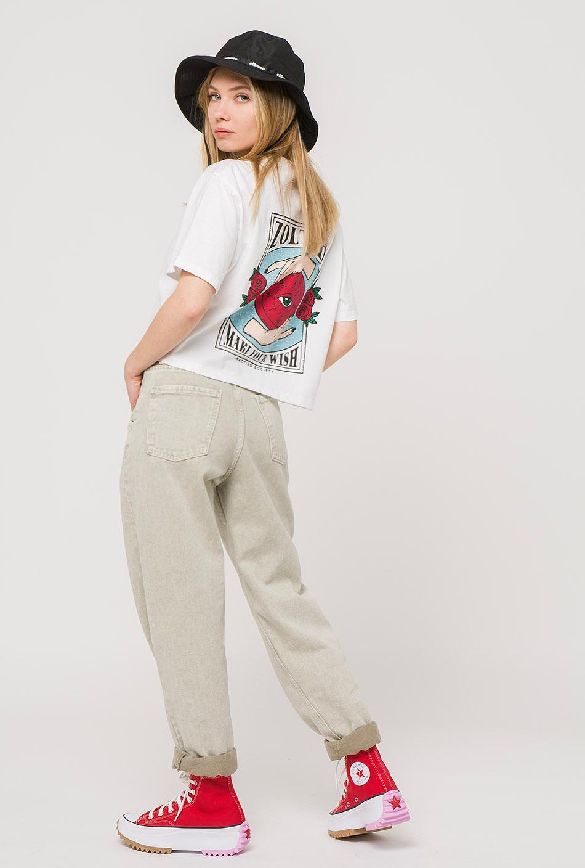 Zoltar Tie-dye White T-Shirt