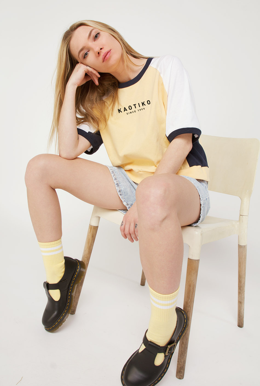 Camiseta Chloe Vainilla